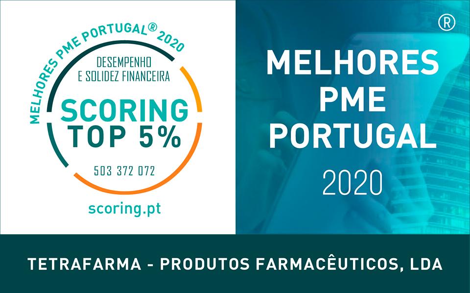 certificado top5 PME 2020